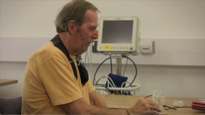 Watch: Revolutionary treatment helps Ex-Marine with debilitating tremors.